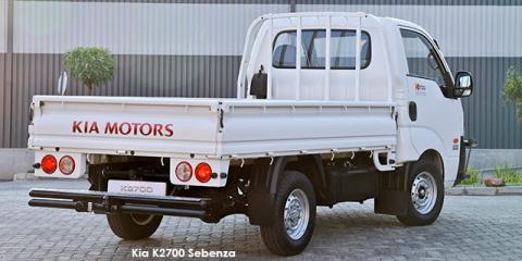 New Kia K2700  K2500 2 7d Workhorse Dropside Sebenza 2 Up To R 2 895 Discount