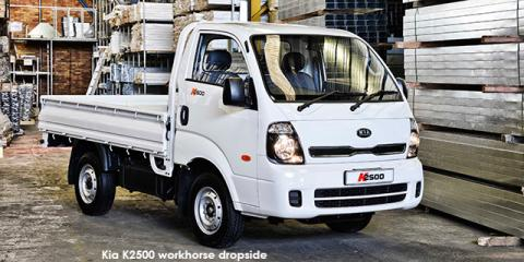 Kia K2500 workhorse dropside (aircon) - Image credit: © 2018 duoporta. Generic Image shown.