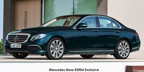 New Mercedes Benz E Class E350d Exclusive Up To R 9 849