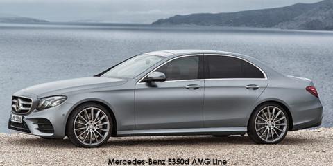 Mercedes-Benz E350d AMG Line