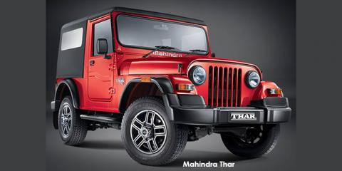 Mahindra Thar 2.5CRDe - Image credit: © 2019 duoporta. Generic Image shown.