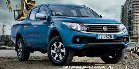 Fiat Fullback 2.5Di-D double cab - Image credit: © 2020 duoporta. Generic Image shown.
