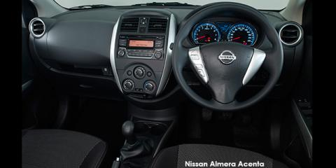 Nissan Almera 1.5 Acenta - Image credit: © 2018 duoporta. Generic Image shown.