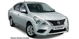 Nissan Almera - Image credit: © 2019 duoporta. Generic Image shown.