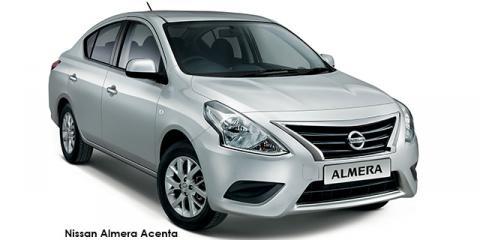 Nissan Almera 1.5 Acenta auto - Image credit: © 2018 duoporta. Generic Image shown.