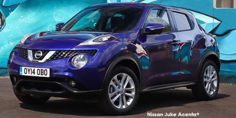 Nissan Juke 1.2T Acenta - Image credit: © 2018 duoporta. Generic Image shown.