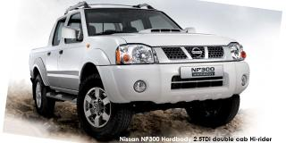 Nissan NP300 Hardbody 2.4 double cab Hi-rider - Image credit: © 2018 duoporta. Generic Image shown.