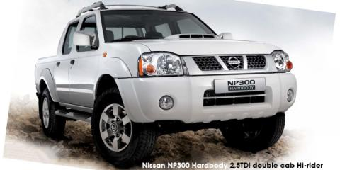 Nissan NP300 Hardbody 2.4 double cab Hi-rider - Image credit: © 2021 duoporta. Generic Image shown.