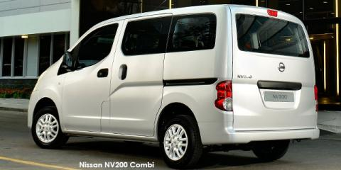 Nissan NV200 Combi 1.6i Visia - Image credit: © 2019 duoporta. Generic Image shown.