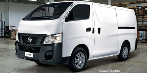 Nissan NV350 panel van 2.5i - Image credit: © 2018 duoporta. Generic Image shown.
