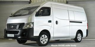 Nissan NV350 panel van wide-body 2.5i