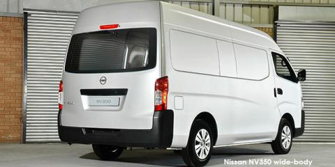 Nissan NV350 panel van wide-body 2.5i - Image credit: © 2018 duoporta. Generic Image shown.