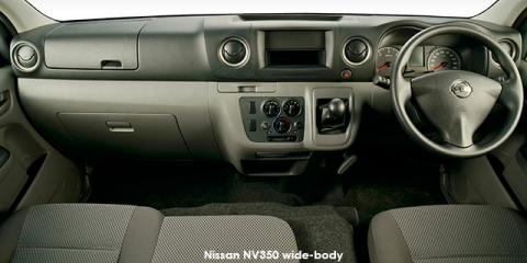 Nissan NV350 panel van wide-body 2.5i - Image credit: © 2019 duoporta. Generic Image shown.