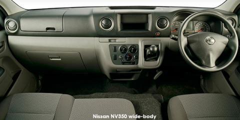 Nissan NV350 panel van wide-body 2.5dCi - Image credit: © 2019 duoporta. Generic Image shown.