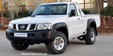 New Nissan Patrol 3 0TD pick-up with up to R 60,000 discount