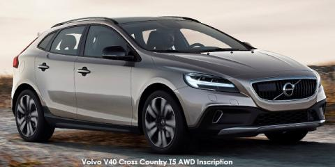 Volvo V40 Cross Country T5 AWD Inscription - Image credit: © 2018 duoporta. Generic Image shown.