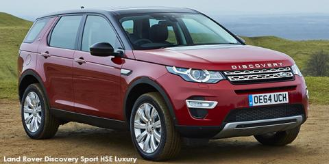 Land Rover Discovery Sport HSE Luxury TD4