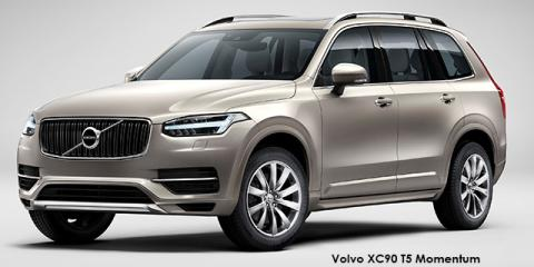 Volvo XC90 T5 AWD Momentum - Image credit: © 2018 duoporta. Generic Image shown.