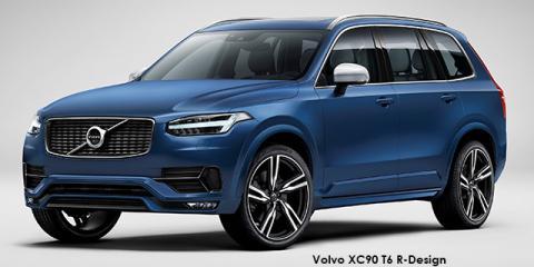 Volvo XC90 T5 AWD R-Design - Image credit: © 2018 duoporta. Generic Image shown.