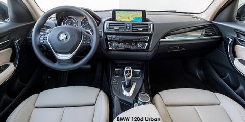 BMW 120i 5-door Urban auto