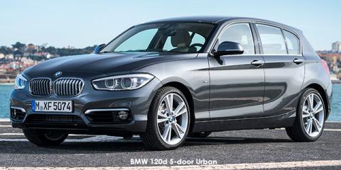 BMW 120d 5-door Urban auto