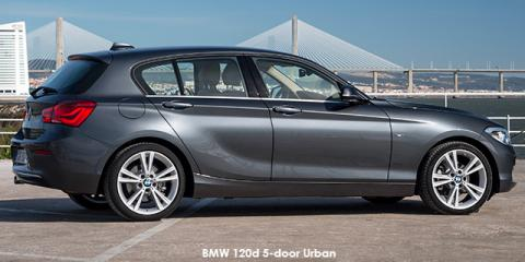 BMW 120d 5-door Urban sports-auto
