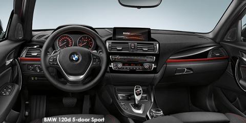 BMW 120d 5-door Sport sports-auto