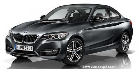 BMW 220i coupe Sport auto