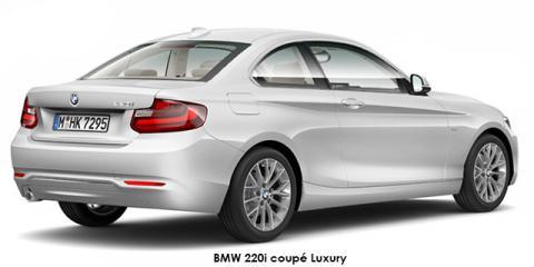 BMW 220i coupe Luxury auto