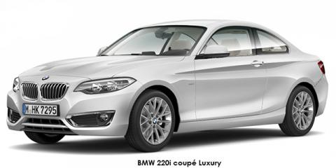 BMW 220d coupe Luxury auto