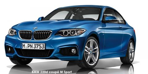 BMW 220d coupe M Sport