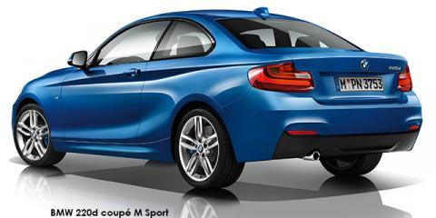BMW 220d coupe M Sport auto