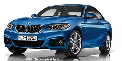 BMW 220d coupe M Sport sports-auto