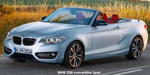 BMW 220i convertible Sport