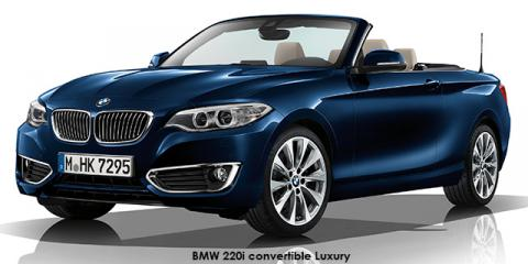 BMW 220i convertible Luxury