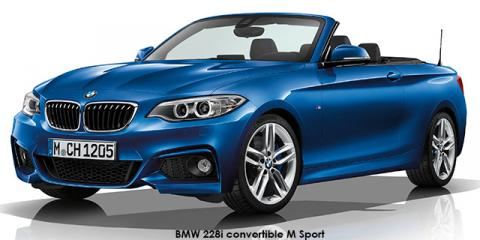 BMW 220i convertible M Sport sports-auto