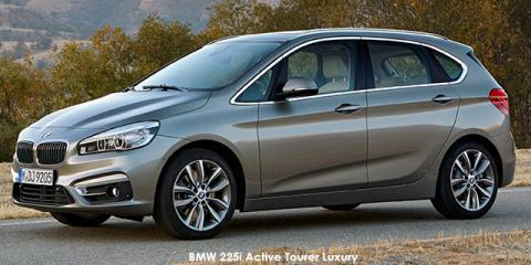 BMW 220i Active Tourer Luxury sports-auto
