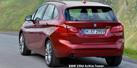 BMW 220d Active Tourer auto