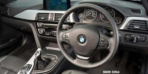 BMW 320i auto - Image credit: © 2018 duoporta. Generic Image shown.