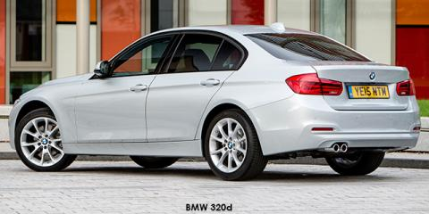 BMW 320i sports-auto - Image credit: © 2018 duoporta. Generic Image shown.