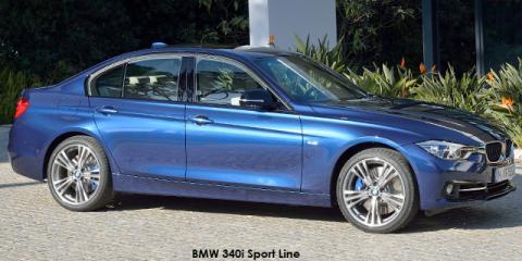 BMW 320i Sport Line auto - Image credit: © 2018 duoporta. Generic Image shown.