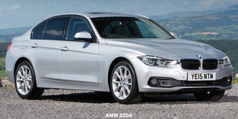 BMW 320d sports-auto - Image credit: © 2018 duoporta. Generic Image shown.