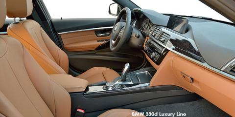 BMW 330i Luxury Line auto - Image credit: © 2018 duoporta. Generic Image shown.