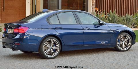 BMW 330i Sport Line sports-auto - Image credit: © 2018 duoporta. Generic Image shown.