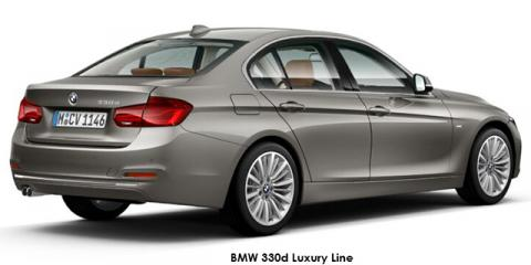 BMW 330d Luxury Line sports-auto - Image credit: © 2018 duoporta. Generic Image shown.
