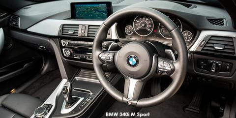 BMW 340i M Sport sports-auto - Image credit: © 2018 duoporta. Generic Image shown.