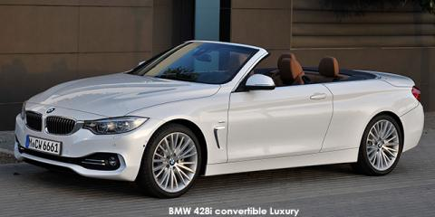 BMW 420i convertible Luxury Line auto