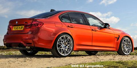BMW M3 Competition auto