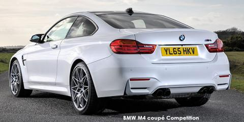 BMW M4 coupe Competition auto