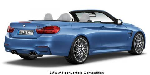 BMW M4 convertible Competition